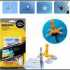DIY Auto Glass Windshield Repair Tool Kit - YELLOW