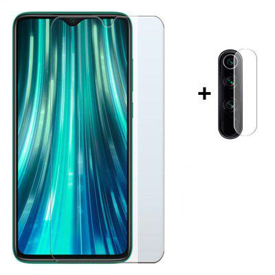 Glass Screen Protector + Lens Protective Film for Redmi Note 8 Pro