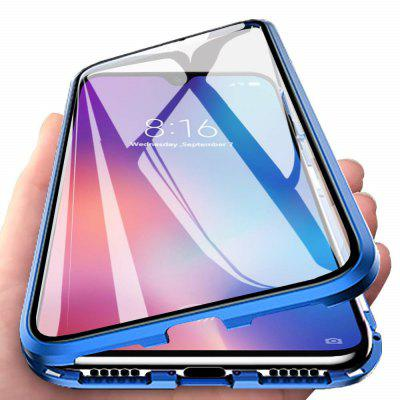 Double Sided Glass Metal Magnetic Phone Case for OnePlus 7T