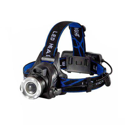 XML-L2 8000LM XM-L Led Zoomable Waterproof Headlight Fishing Light