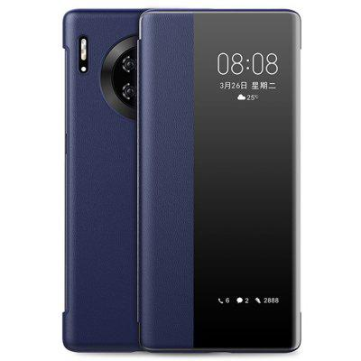 Clear View Smart Flip Full Phone Case for Huawei Mate 30 Pro