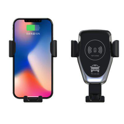 10W Qi Car Wireless Fast Charger Phone Holder Gravity Bracket Mount