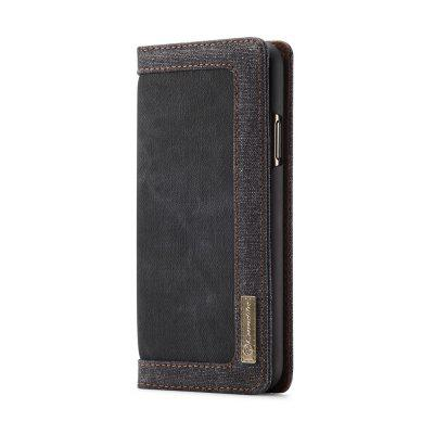 CaseMe Canvas Wallet Flip Phone Case Cover Card Slot Stand Case for iPhone 11