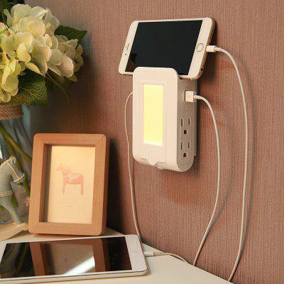 Two in One Power Adapter LED Night Light