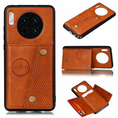 PU Leather Card Holder Phone Case for Huawei Mate 30 Pro