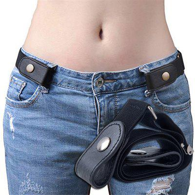 No Buckle Stretchy Elastic Waist Belt for Women / Men  Jeans Pants