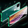Double Sided Glass Metal Magnetic Phone Case for iPhone 11 Pro - SEA TURTLE GREEN