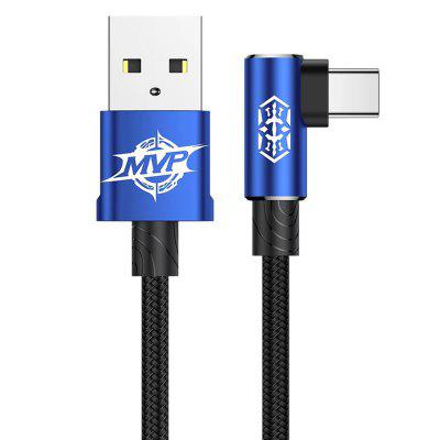 Baseus USB typu C Kabel 90 Stopień USB Mobile Phone Charging Cable for Android