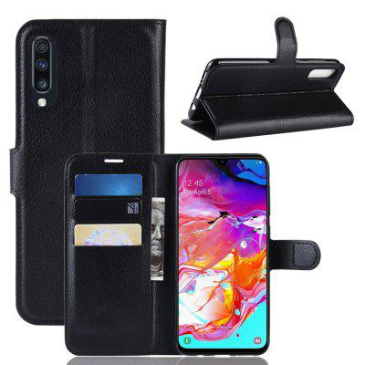 CHUMDIY PU Leather Volledige Cover Wallet Phone Case voor Samsung Galaxy A70