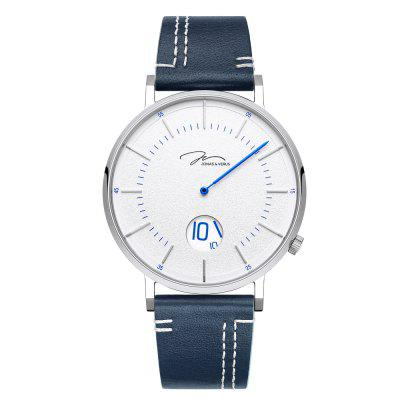 JONAS VERUS Men'S Unique Fashion Style Quartz Watch