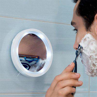 Portable 360 Degree Suction Cup Led Vanity Mirror