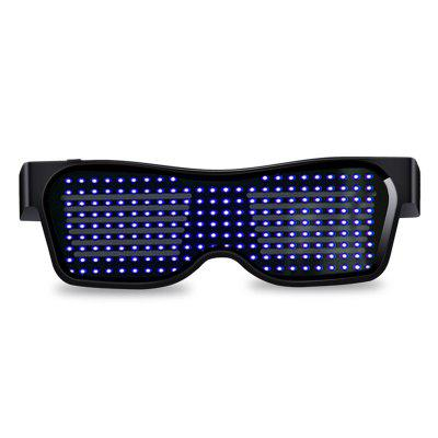 Led Bluetooth Mobile Phone Control Glasses