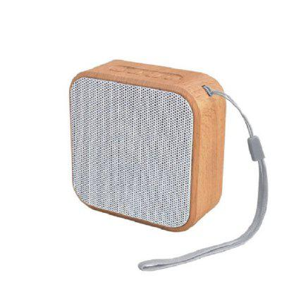 Mini Portable Bluetooth 4.2 Houten Wireless Speaker Bass Ondersteuning AUX TF-kaart