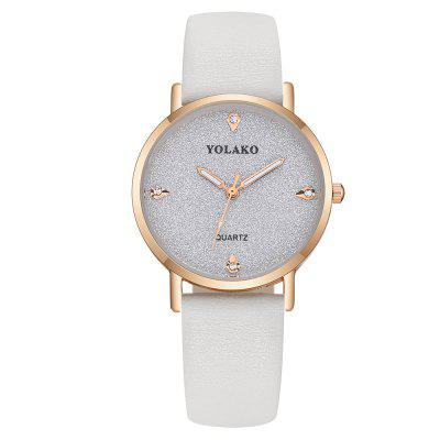 Fashion Lady Creative Diamond All Over The Sky Hvězda Volný Belt Quartz Watch