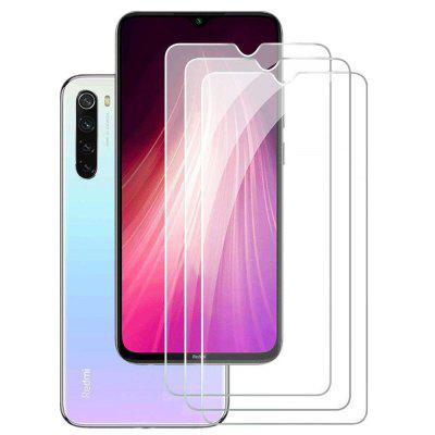 9H Glass Screen Protector voor Xiaomi redmi Note 8T 3pcs