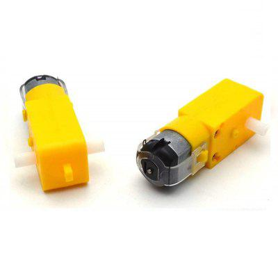DC Gear Motor Dual Shaft DIY Kit for Arduino inteligentní auto Robot 2ks