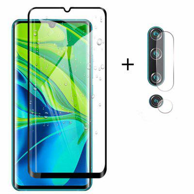 Glass Screen Protector + Lens Protective Film for Xiaomi Mi CC9 Pro/Note 10