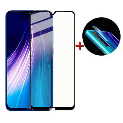 Glass Screen Protector + Lens Protective Film for Xiaomi Redmi Note 8T