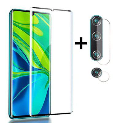 Glass Screen Protector + Lens Protective Film for Xiaomi Mi Note 10 / CC9 Pro