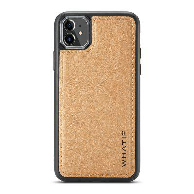 WHATIF Kraft Paper Shockproof Phone Case Mobile Phone Back Case for iPhone 11