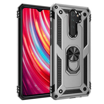 Ring Buckle Kickstand Armor Phone Case Cover for Xiaomi Redmi Note 8 Pro