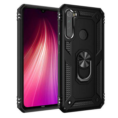 Ring Buckle Kickstand Armor Phone Case Cover for Xiaomi Redmi Note 8