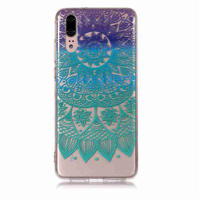 TPU Painted Transparent Phone pour Huawei P20