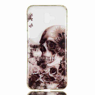 TPU Painted Transparent Phone pour Samsung Galaxy J6 plus