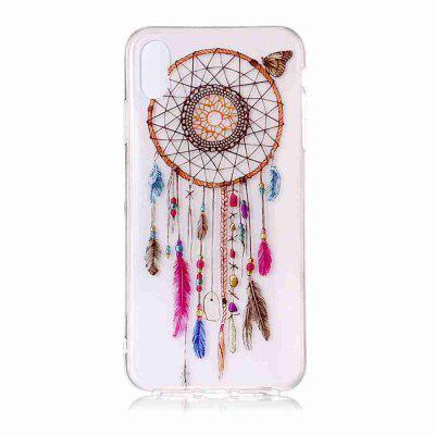 TPU Painted Transparent Phone Case for iPhone X / XS