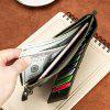 LAOSHIZILUOSEN Heren Groot-Capacity Wallet Card Pakket Anti-Theft Card Package - ZWART