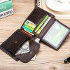 Old Lion Leather Men'S Wallet Anti-Theft Brush Change Wallet Double Bill Wallet - COFFEE
