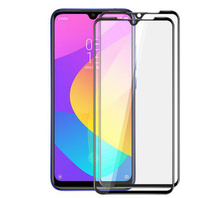 JOFLO 3D Full Cover Tempered Glass Screen Protector for Xiaomi Mi 9 Lite - 2pcs