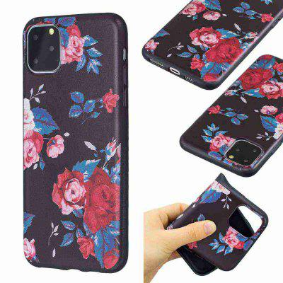 TPU Relief Malowane Phone Case for iPhone 11 Pro Max