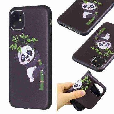 TPU Relief Painted Phone Case for iPhone 11
