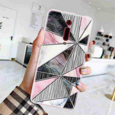 Geometric Marble Painted Phone Case for Xiaomi Redmi K20 / K20 PRO/ 9T/ 9T PRO