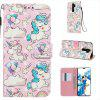 Butterfly 3D Painted PU Phone Case for Xiaomi Redmi Note 8 Pro - MULTI-H