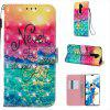 Butterfly 3D Painted PU Phone Case for Xiaomi Redmi Note 8 Pro - MULTI-K