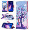 Golden Butterfly Painted PU Phone Case for Xiaomi Redmi Note 8 - MULTI-E