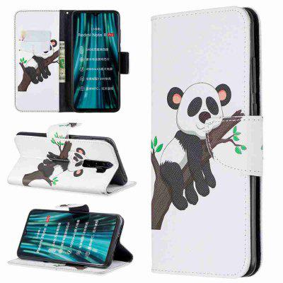 Elephant Painted PU Phone Case for Xiaomi Redmi Note 8 Pro