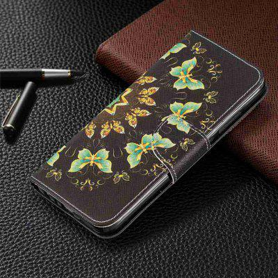 Elephant Painted PU Phone Case for Xiaomi Redmi Note 8