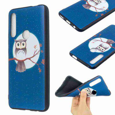 TPU Relief Painted Phone Case for Huawei P Smart Z