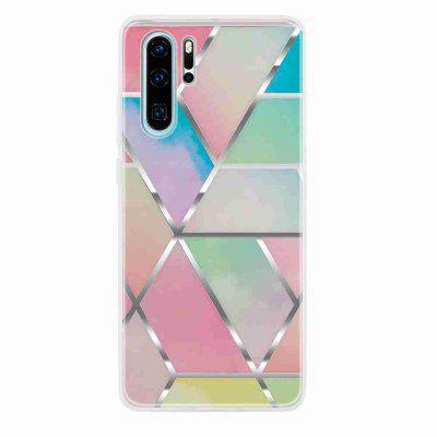 TPU Relief Malowane Phone Case for Huawei Huawei P30 Pro