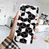 TPU Geometric Marble Painted Phone Case for iPhone X/XS - MULTI-J