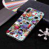 Luminous Painted TPU Phone Case for iPhone  Xs Max - MULTI-K