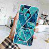 TPU Geometric Marble Painted Phone Case for Huawei Y7 2019 / Y7 Prime 2019 - MULTI-F