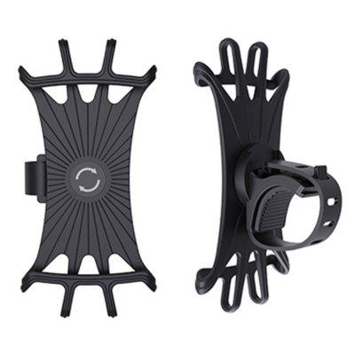 Durable universel vélo Base de silicone rotatif réglable Support GPS guidon