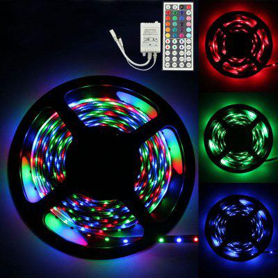 MAGOTAN 5M RGB 3528 Bare Board 300 LED Met 44 Button Remote Control