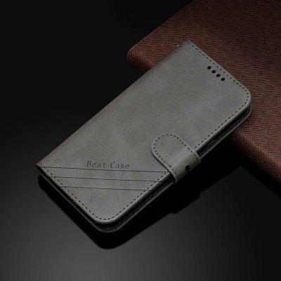 Two-Tone Cow Pattern Solid Color PU Phone Case for Xiaomi Redmi Note 8