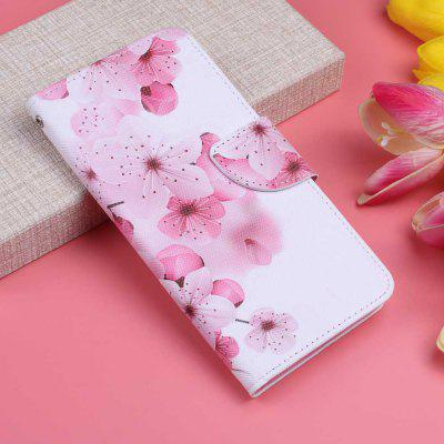 Blue Eyed Cat Painting PU Phone Case for Xiaomi Redmi Note 8