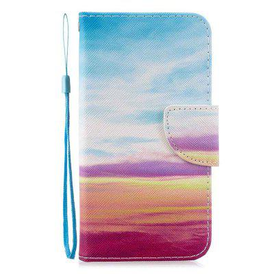 Cross Stitch Painting PU Phone Case for Xiaomi Redmi Note 8T